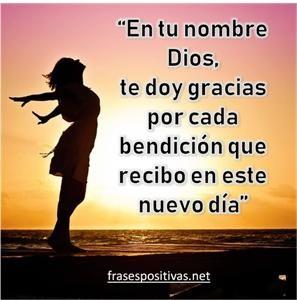 agradecimiento a dios por bendiciones