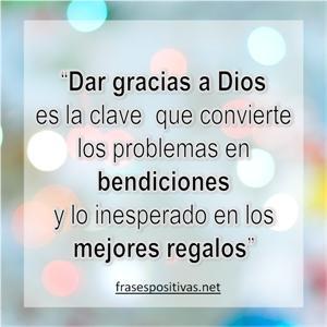 reflexiones de agradecimiento a dios