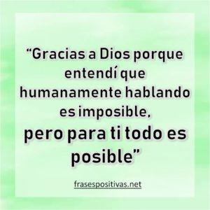 palabras de agradecimiento a Dios en imagenes