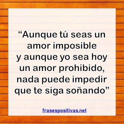 frases de amor imposible