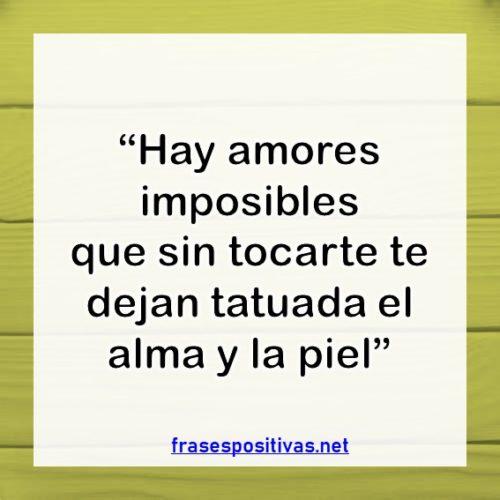 frases de amor imposible verdadero