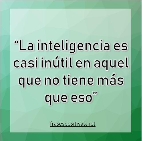 pensamiento de inteligencia