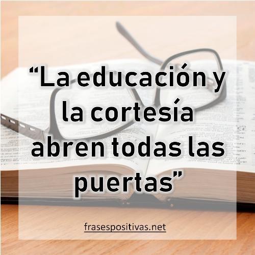 frases de educacion