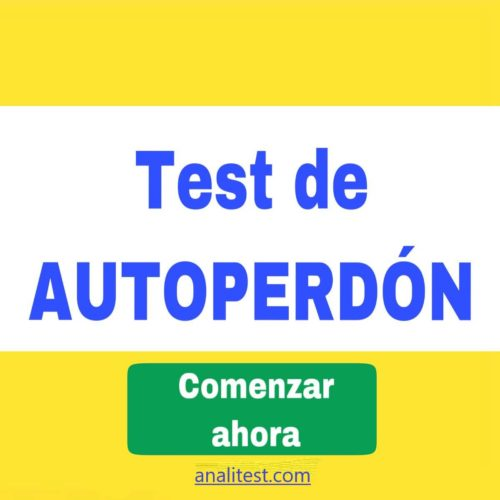 test de autoperdon