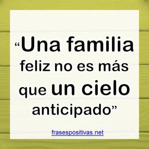 Frases de Familia unida