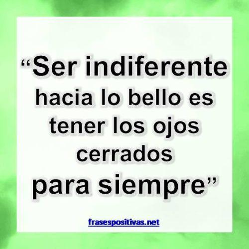 Frases sobre indiferencia