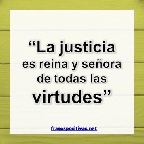 Frases bonitas de justicia
