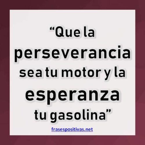 reflexiones sobre perseverancia