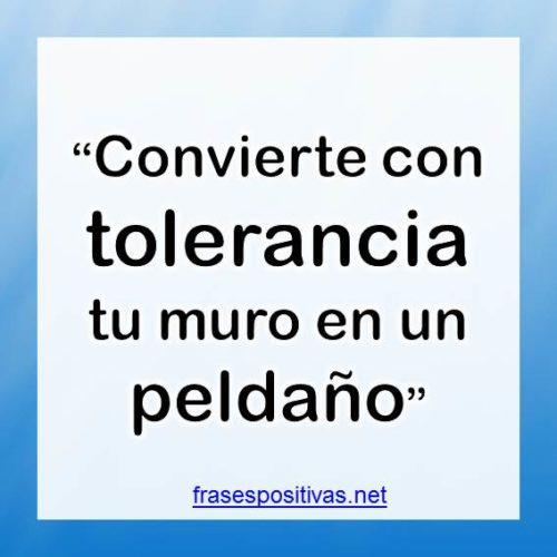frases sobre tolerancia