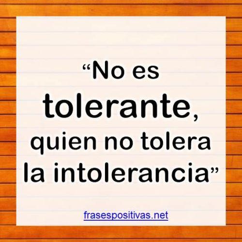 frases sobre la tolerancia y respeto