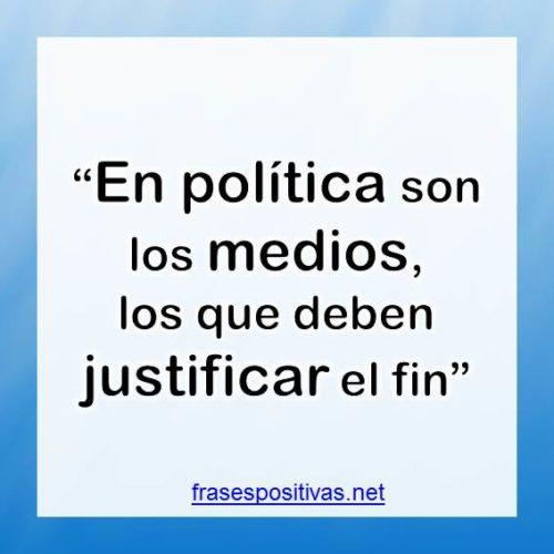 frases de política