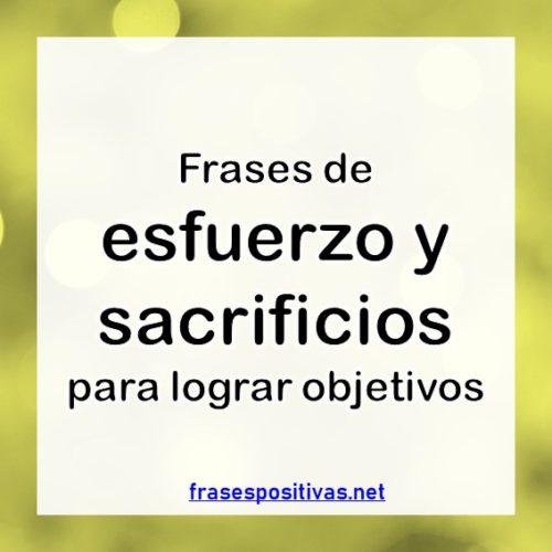 90 Frases De Esfuerzo Sacrificio Y Recompensas Imágenes