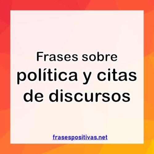 Frases de politica